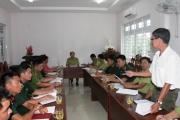 Hội nghị triển khai Kế hoạch phòng chống các hành vi vi phạm Luật Bảo vệ và Phát triển rừng trên địa bàn huyện Côn Đảo năm 2018