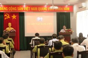 Chương trình họp sinh hoạt Chi bộ Ban quản lý Vườn quốc gia Côn Đảo quý I năm 2019
