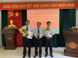 Lễ trao quyết định bổ nhiệm và giao nhiệm vụ chức vụ Trưởng phòng tại Vườn quốc gia Côn Đảo