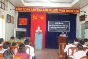 Tổ chức Hội nghị Quán triệt học tập chuyên đề tư tưởng, đạo đức, phong cách Hồ Chí Minh và Nghị quyết TW4, khóa XII về xây dựng chỉnh đốn Đảng