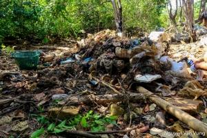 Thu gom, xử lý rác thải tại một số đảo nhỏ thuộc Vườn quốc gia Côn Đảo năm 2019
