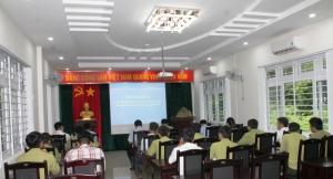 Khai giảng lớp đào tạo lái phương tiện thủy nội địa