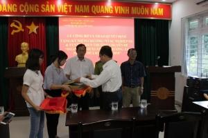 Lễ trao kỷ niệm chương và khen thưởng chuyên đề thi đua