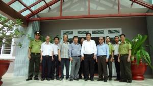 Đoàn cán bộ các sở nghành tỉnh Bà Rịa - Vũng Tàu tới thăm Vườn quốc gia Côn Đảo