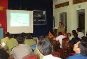 TẬP HUẤN PHÒNG CHỐNG, CHỮA CHÁY RỪNG NĂM 2008