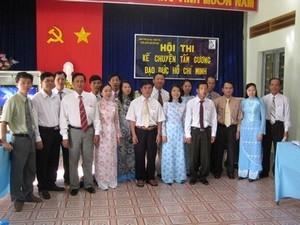 Hội thi kể chuyện tấm gương đạo đức Hồ Chí Minh
