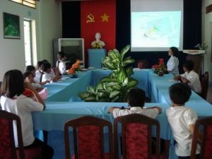 Chưong trình giáo dục môi trường cho học sinh khối lớp 5 trường Cao Văn Ngọc