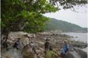 Bãi Ông Đụng trên Đảo Côn Sơn
