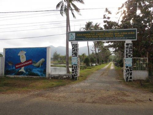 Trung tâm du khách Vườn quốc gia Côn Đảo